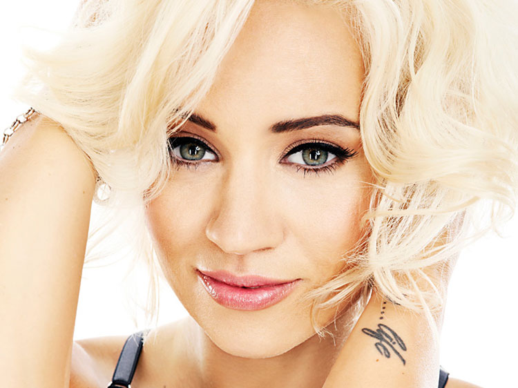 Kimberly Wyatt was 'almost' thrown out of Pussycat Dolls for having acne