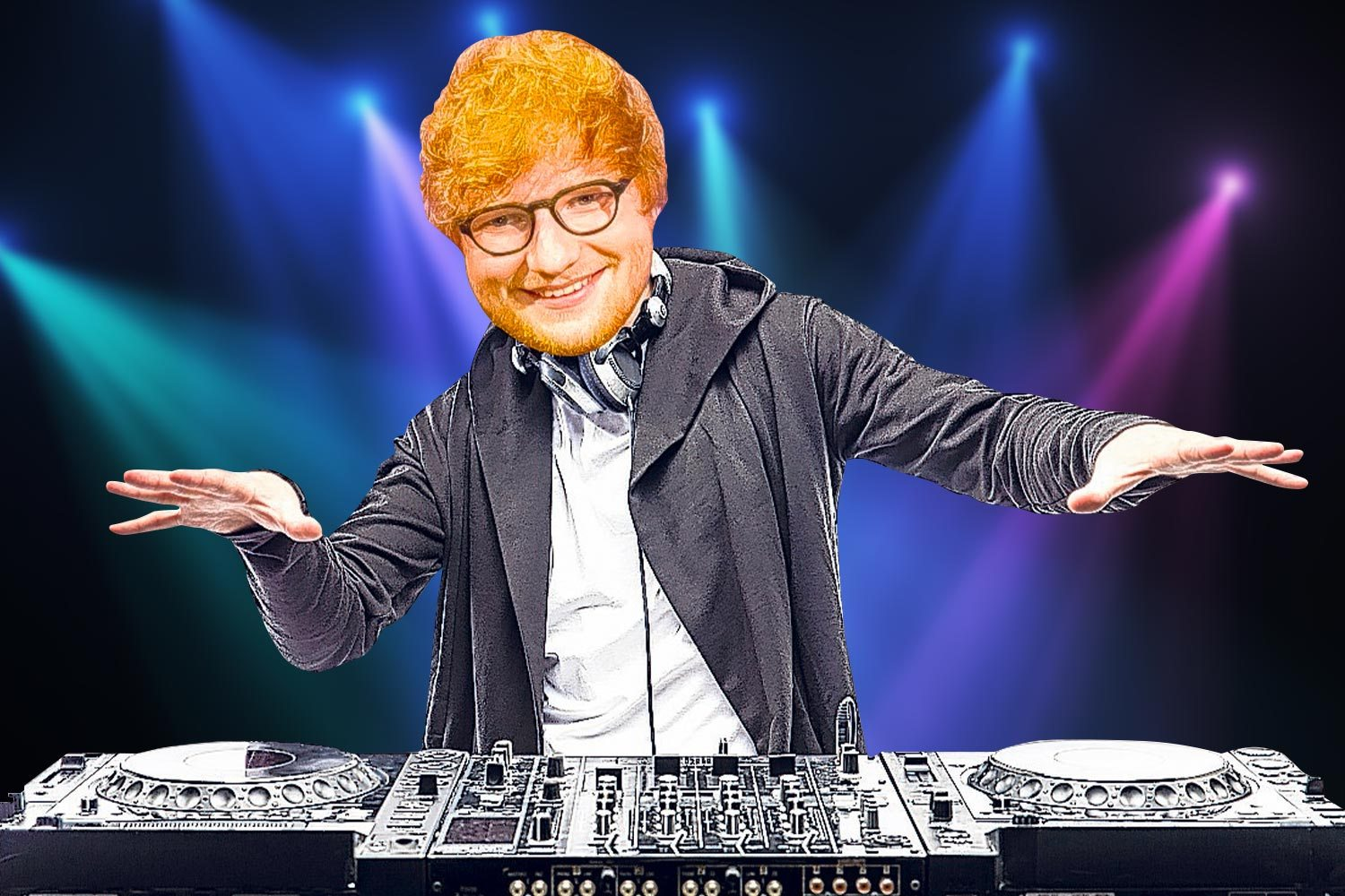 Ed Sheeran tries his hand at DJing with his first remix under the alias 'Gingerbread mix'