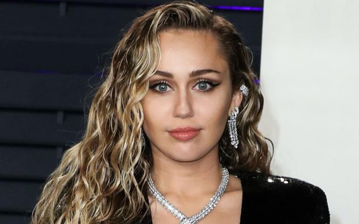 Miley Cyrus records Metallica anthem with Elton John