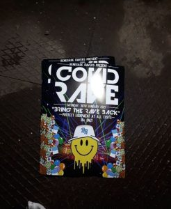UK COVID RAVE BROKEN UP BY POLICE BEFORE HUNDREDS OF TICKET PURCHASERS ARRIVED
